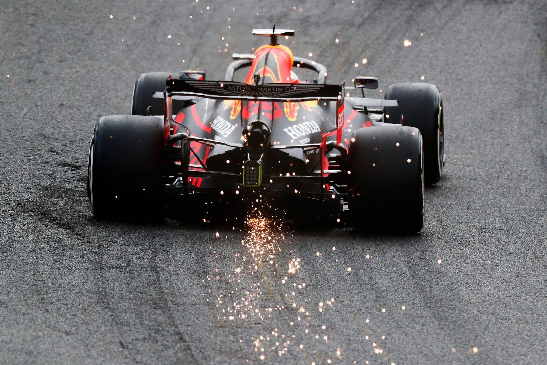 Un soucis technique est venu gâcher la fête chez Red Bull en Q3