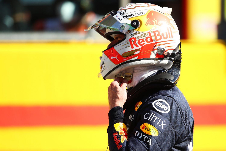 Frustration de Max Verstappen au GP de Toscane