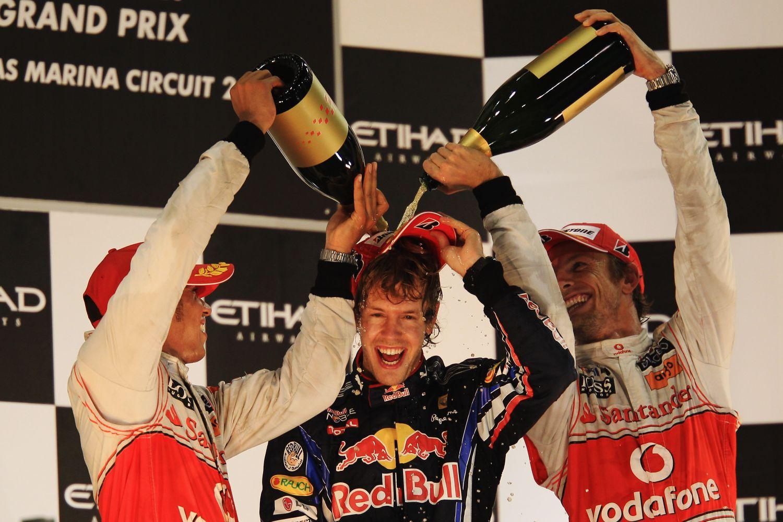 © Red Bull - Vettel, victorieux au terme d'une magnifique saison 2010
