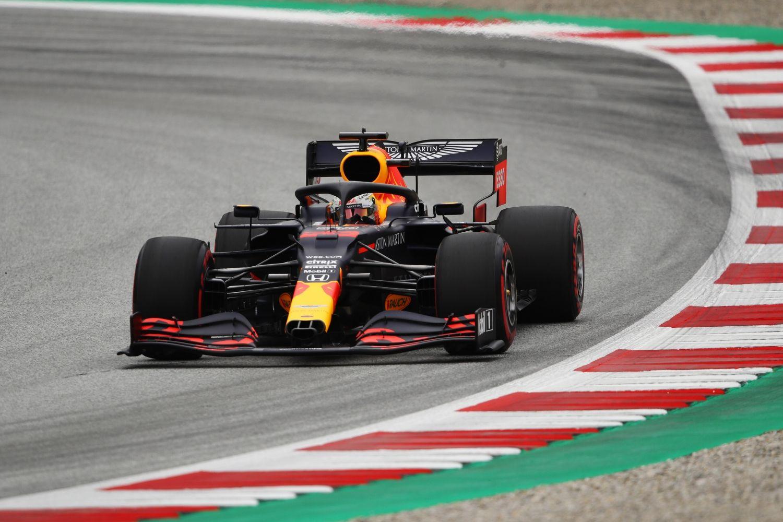 © Red Bull Racing - Max Verstappen en tête des EL1 à Silverstone