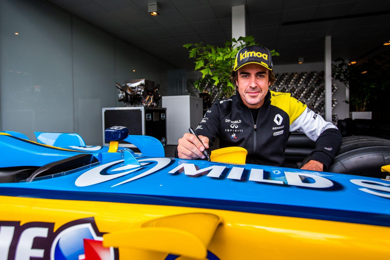Alonso célèbrera le passage de relais entre Renault et Alpine ce week-end
