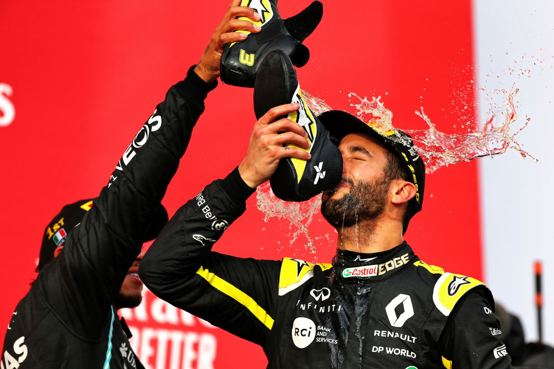 © Renault - Le Shoey n'est pas la seule récompense de podium pour Ricciardo