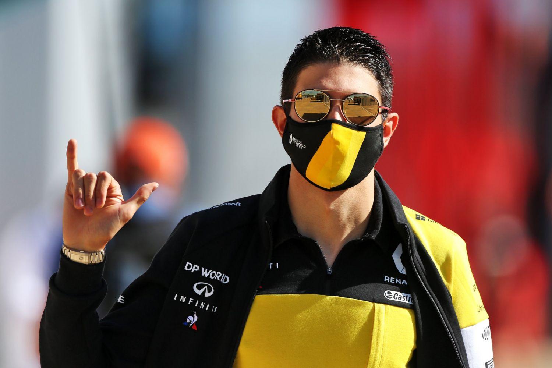 © Renault - Premier podium pour Esteban Ocon à Sakhir