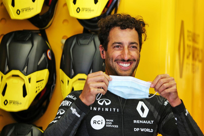 © Renault - Daniel Ricciardo pouvait arborer son plus beau sourire