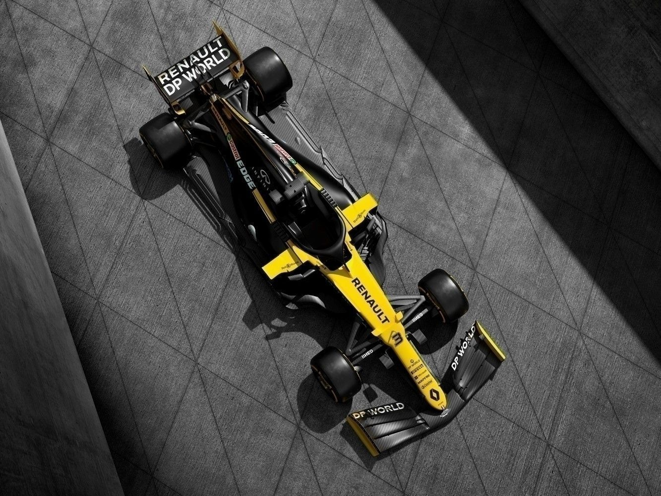 © Renault F1 Team - La Renault R.S.20 avec sa robe défintive