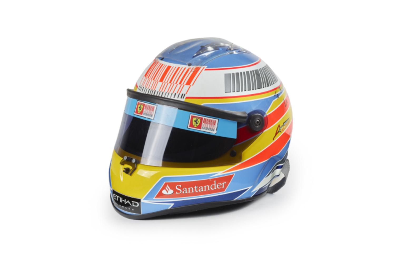 Réplique du casque d'Alonso de 2010