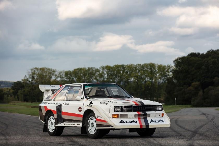 Audi Sport Quattro S1 de 1988