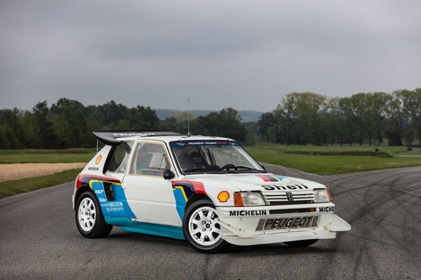 Peugeot 205 T16 Evolution2 de 1985