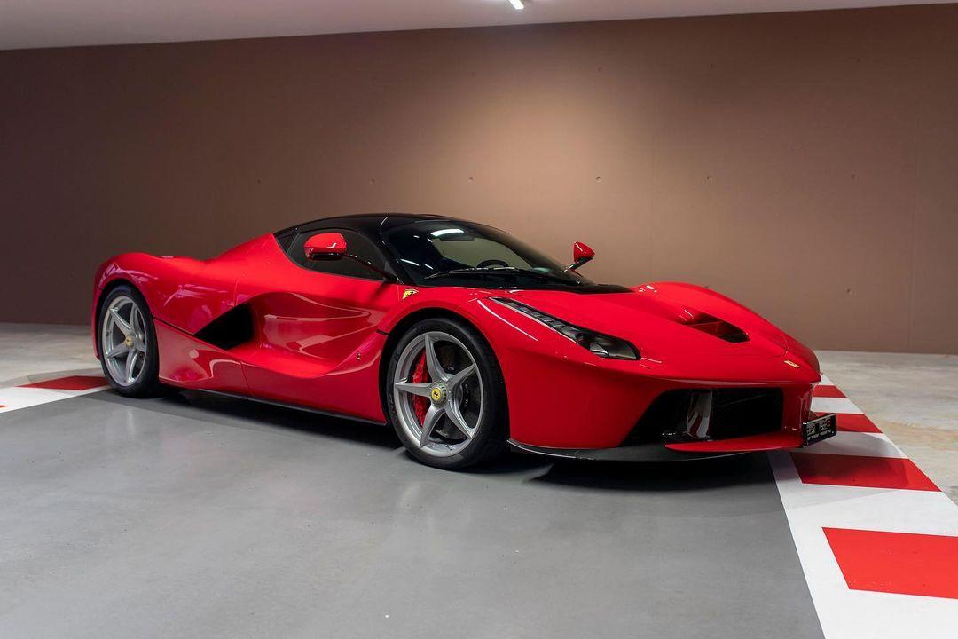 Ferrari LaFerrari de Sebastian Vettel