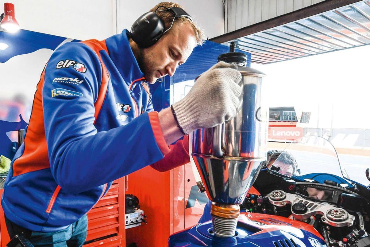 Des contraintes de volume en Moto GP, à l'inverse de la F1