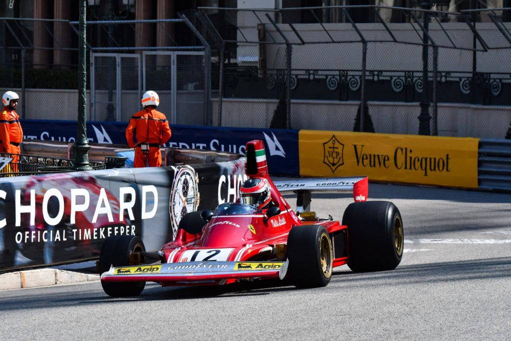 © Autmobile Club de Monaco - Ferrari 312 B3 de Niki Lauda
