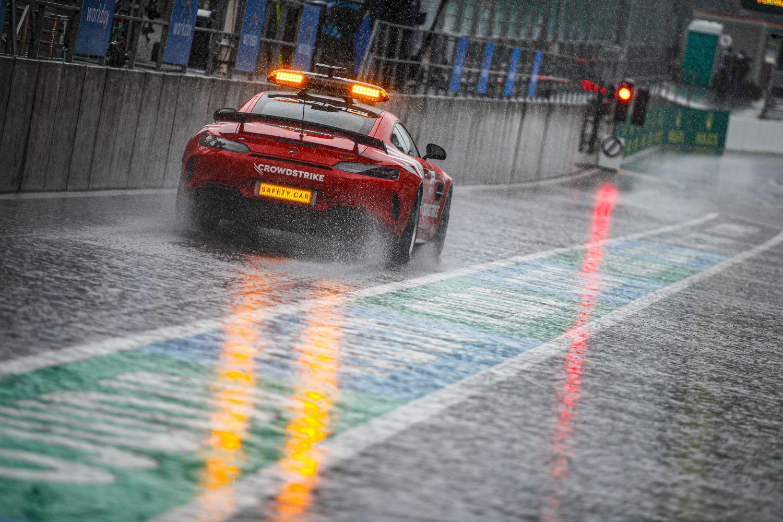 La pluie ne cessera pas de s'abattre sur le circuit de Sotchi