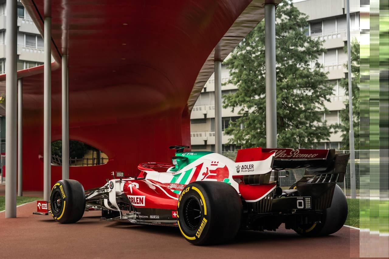 La drapeau de l'Italie sera mis en avant sur les voitures d'Alfa Romeo