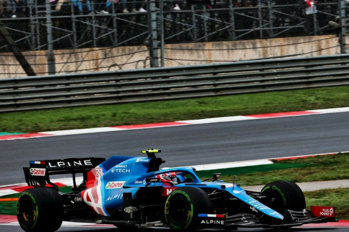 De nouveaux points pour Esteban Ocon qui permet à Alpine d'enchainer 15 courses dans les points.