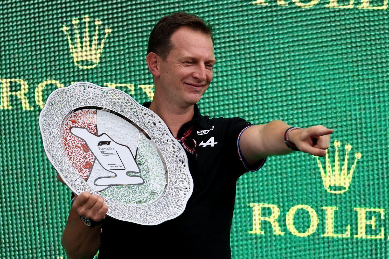 Laurent Rossi a goûté à la victoire en F1