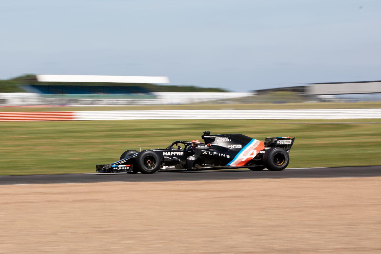Lundgaard au volant de la RS 18