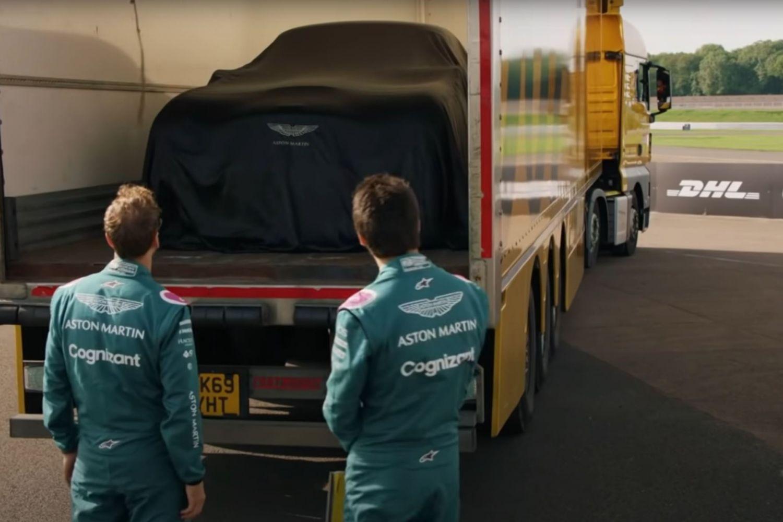 Les pilotes Aston Martin découvre leur jouer pour quelques heures (Extrait vidéo)