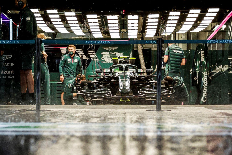 De la pluie toute la nuit a eu raison de la 3ème session d'essais