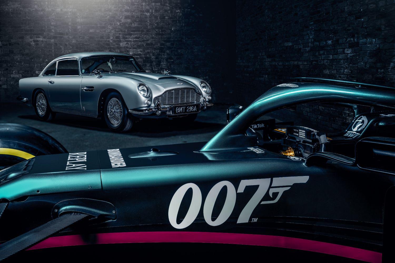Le logo de l'espion le plus célèbre de la planète sera placé sur les voitures d'Aston Martin