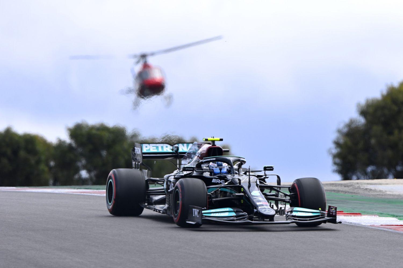 Grand Prix du Portugal - Qualifications : Bottas d'un cheveu devant Hamilton