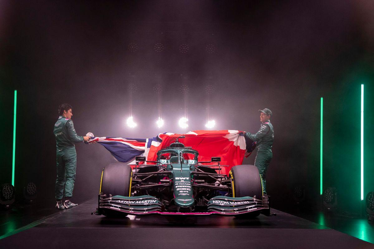 © Aston Martin - Sans surprise l'AMR21 est bien verte