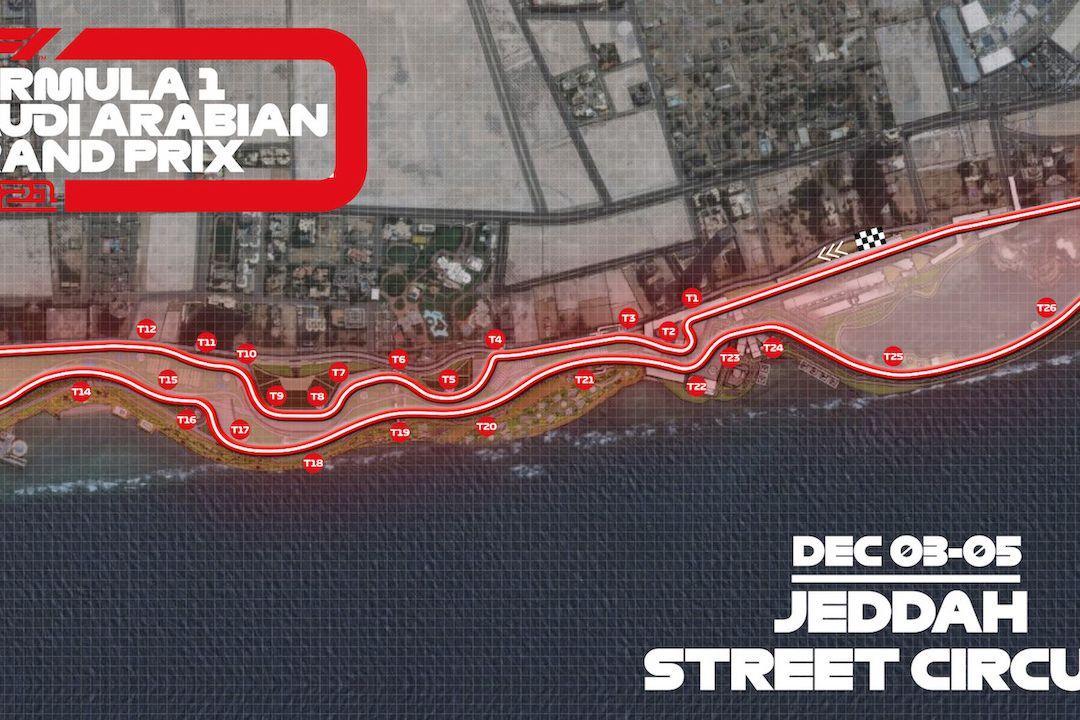 Présentation du circuit de Jeddah