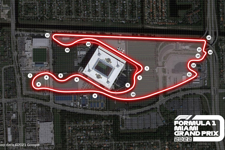 Le nouveau circuit de Miami offre de nombreuses possibilités de dépassement
