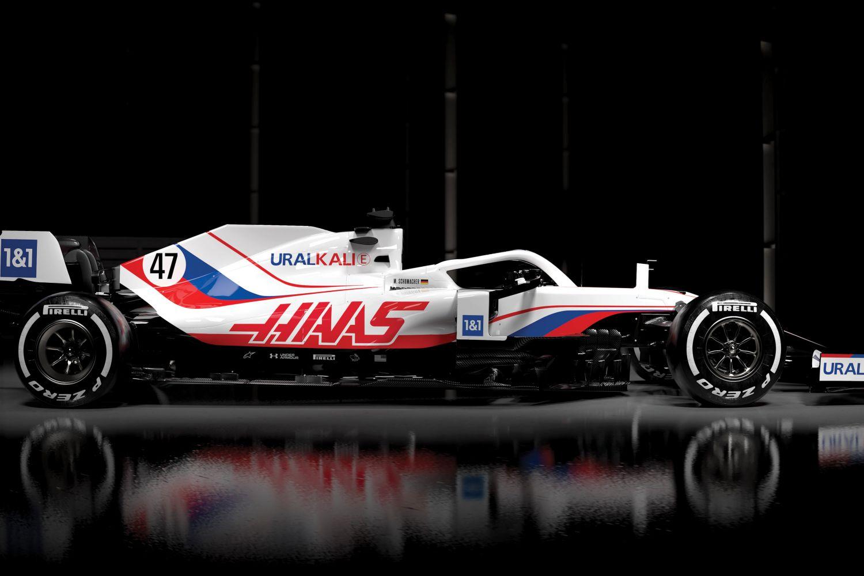 Changement radical dans la livrée de la nouvelle Haas