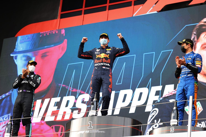 Verstappen vainqueur du Grand Prix d'Emilie-Romagne