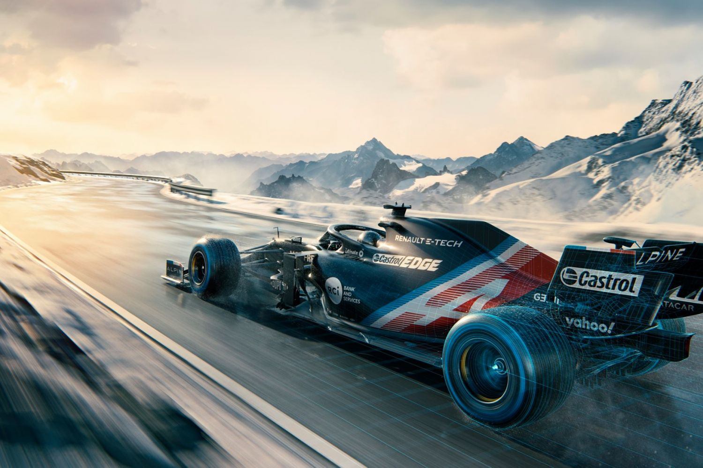 Livrée A521 Alpine F1 2021