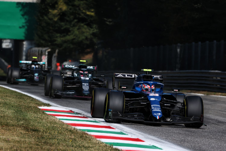 Esteban Ocon au Grand Prix d'Italie 2021.
