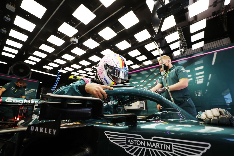 Une F1 aussi verte que son Aston Martin ne serait pas déplaisant pour Sebastian Vettel.