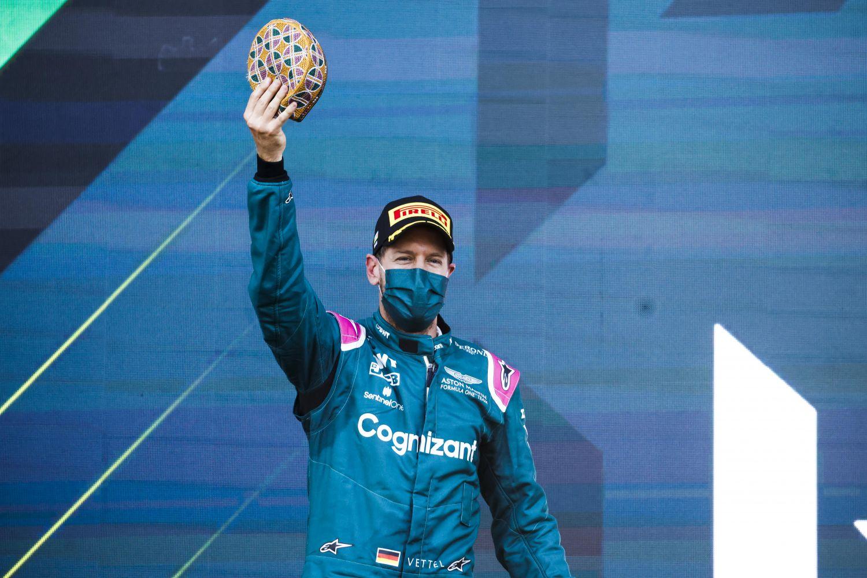 Sebastian Vettel remonte sur le podium !