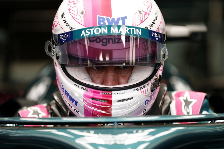 © Aston Martin - Sebastian Vettel a connu un premier week-end très compliqué