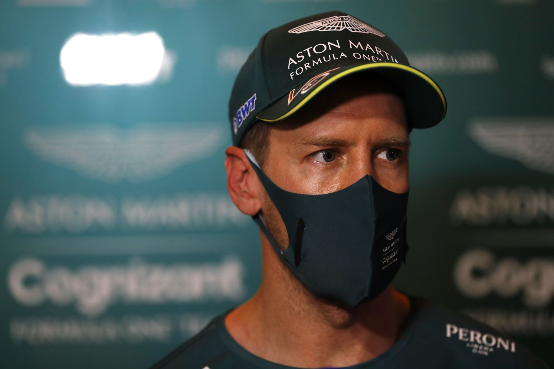 © Aston Martin - Sebastian Vettel aura du boulot en course !