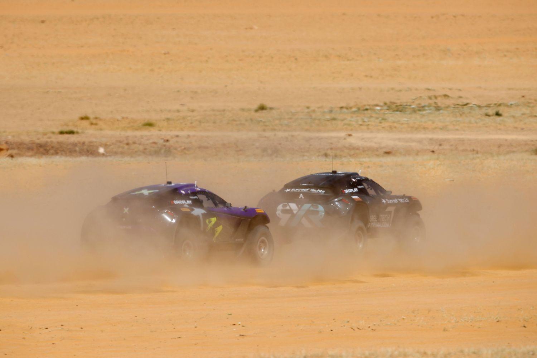 © Extreme E - Team Rosberg devant Team Hamiltion : le retour d'un duel épique