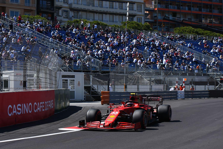 Carlos Sainz semble s'être vite adapté à la Ferrari