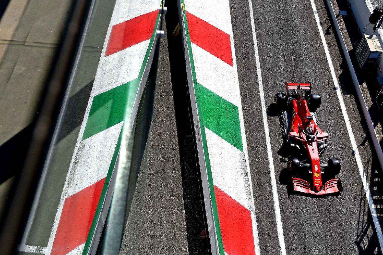 La capricieuse Ferrari de Sebastian Vettel à Monza en 2020