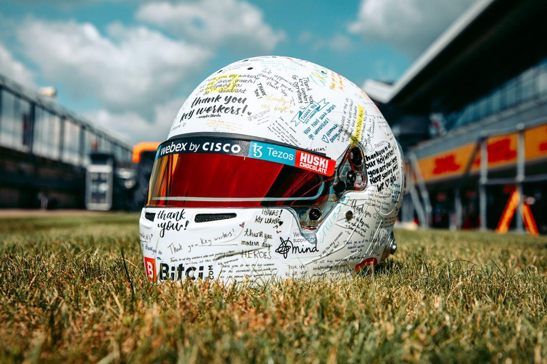 Des casques spéciaux pour les Britanniques à Silverstone