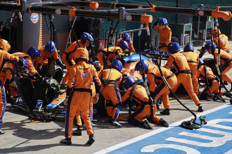 Norris pense qu'il aurait pu jouer le podium à Silverstone
