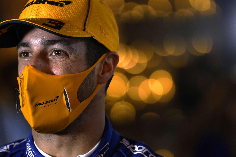 Daniel Ricciardo a avoué que les discussion avec Ferrari sont restées basiques