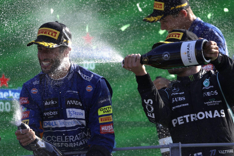 La communauté twitter a bien évidemment encensé ce Grand Prix d'Italie rocambolesque