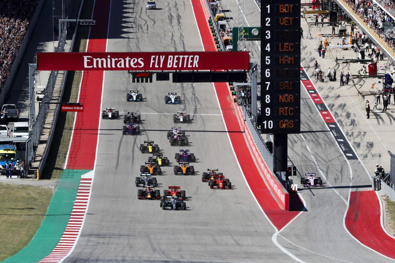 Grand Prix des Etats-Unis - Les chiffres clés
