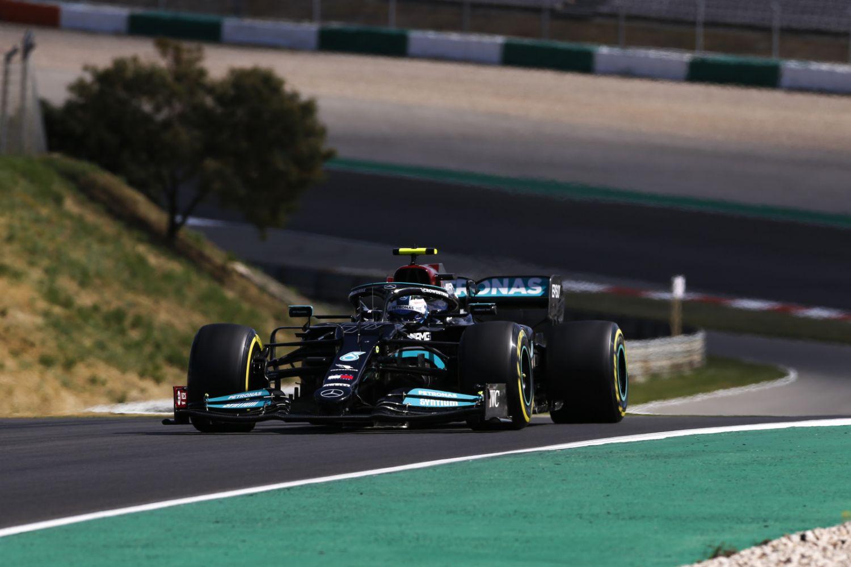 Valtteri Bottas n'a encore pas concrétisé sa pole position en victoire au Grand Prix du Portugal