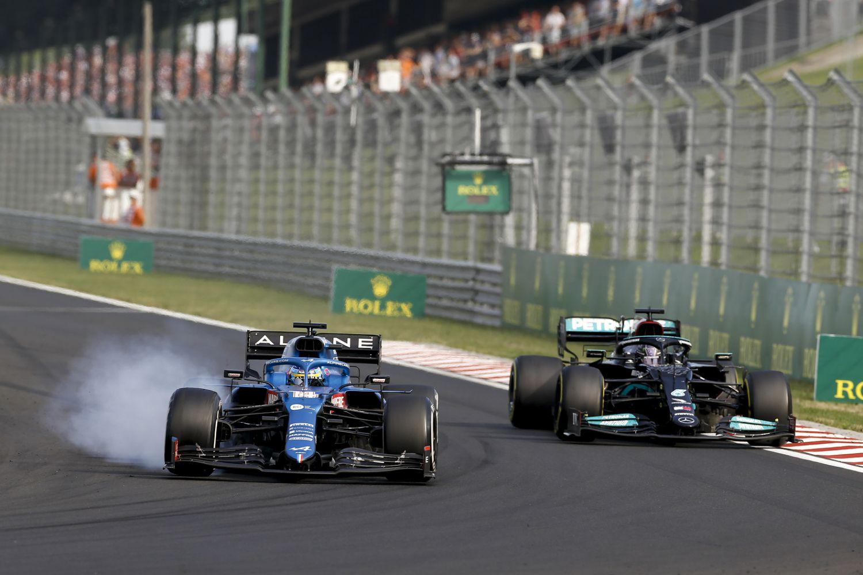Alonso s'offre sa meilleure position (4eme) de la saison au Grand Prix de Hongrie