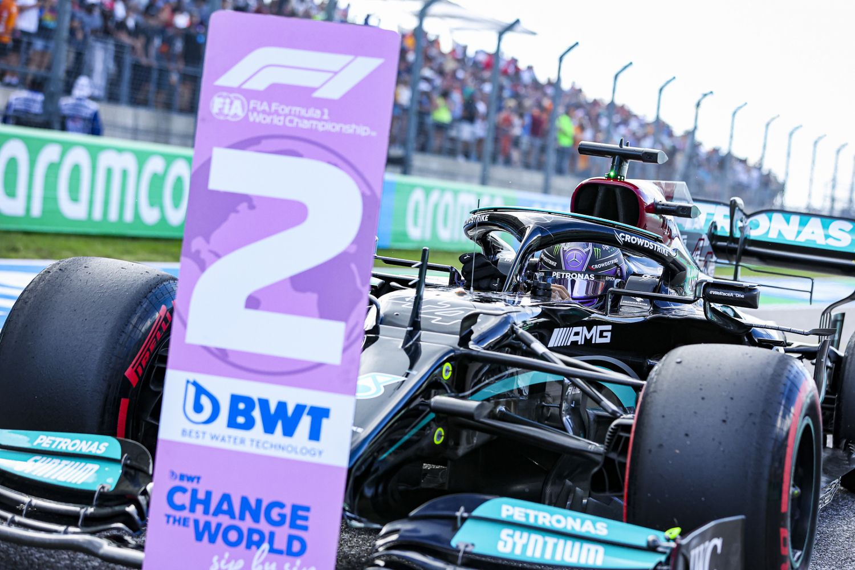 Lewis Hamilton n'a rien pu faire