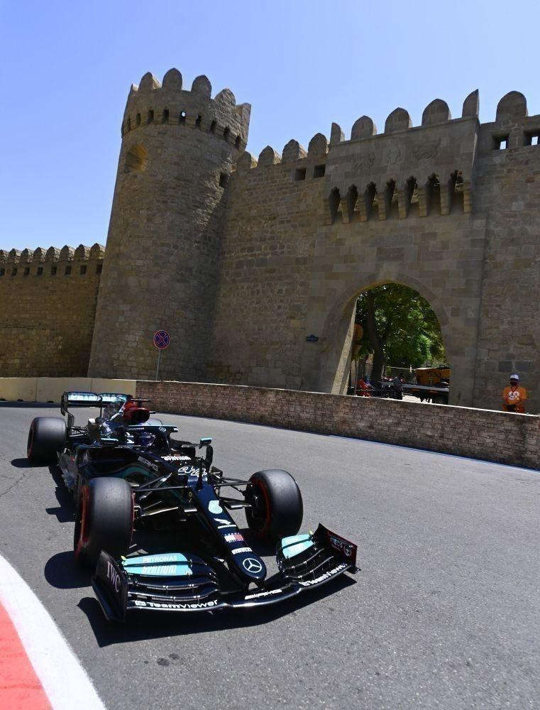 Lewis Hamilton n'a pas encore trouvé la clé de la forteresse de Bakou