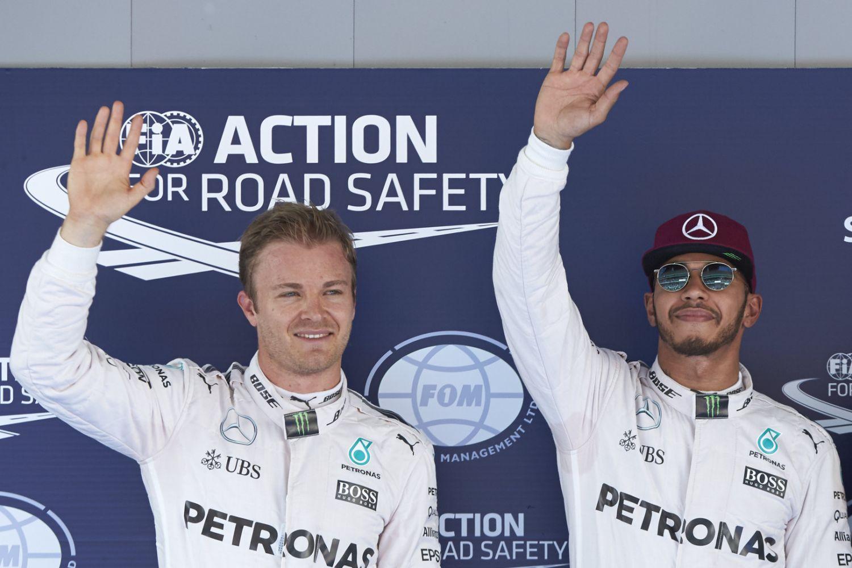 La tension entre Rosberg et Hamilton a amené Wolff à menacer ses pilotes de suspension