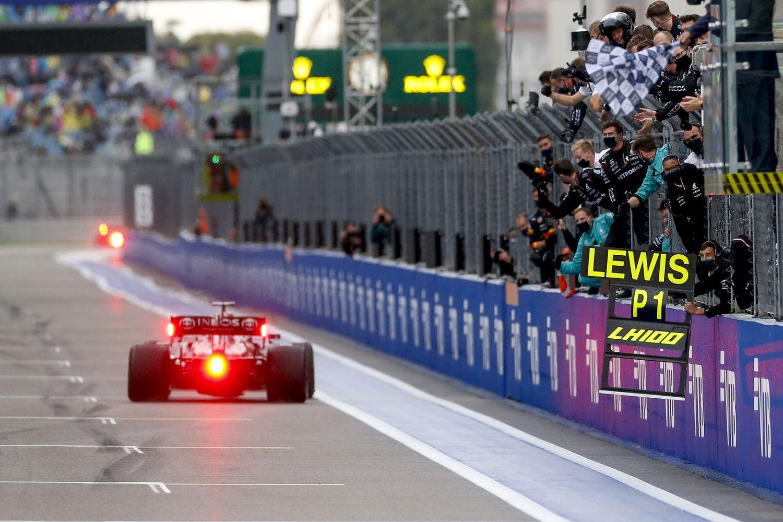 Le Grand Prix de Russie 2021 est rentré dans l'histoire de la F1