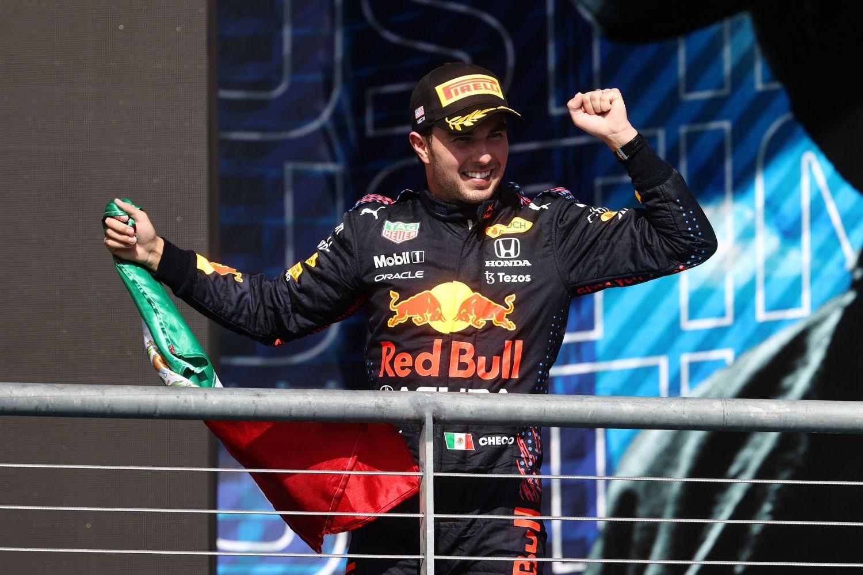 Sergio Perez a eu soif à Austin